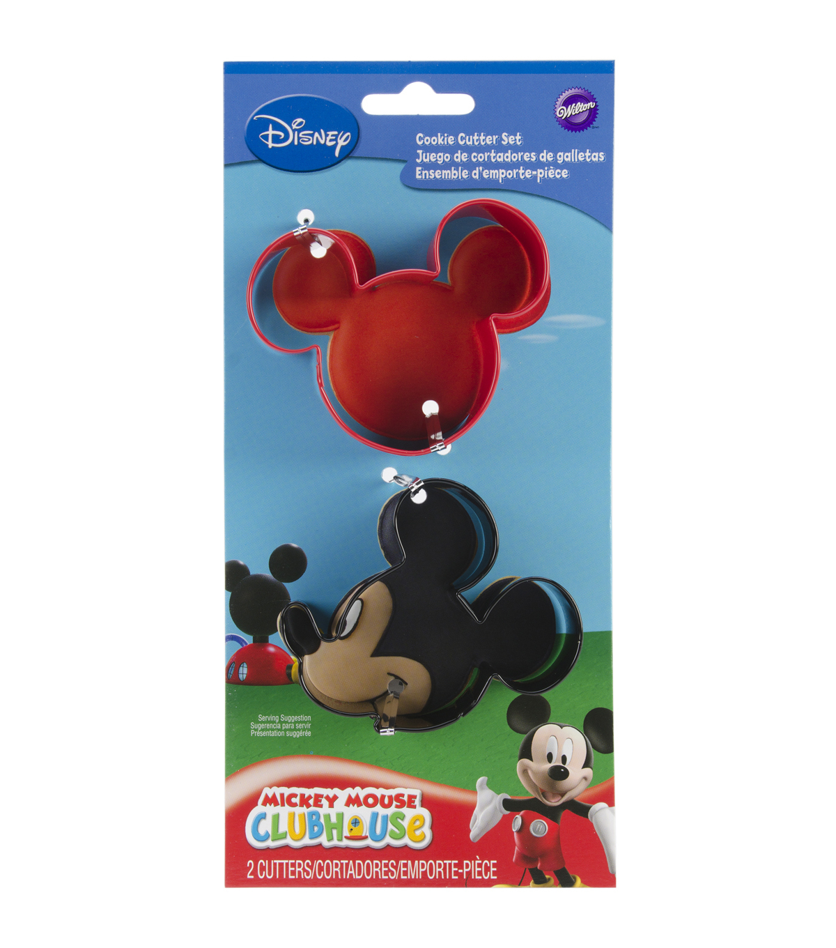 Cookie Cutter Set 2/Pkg- Mickey Mouse