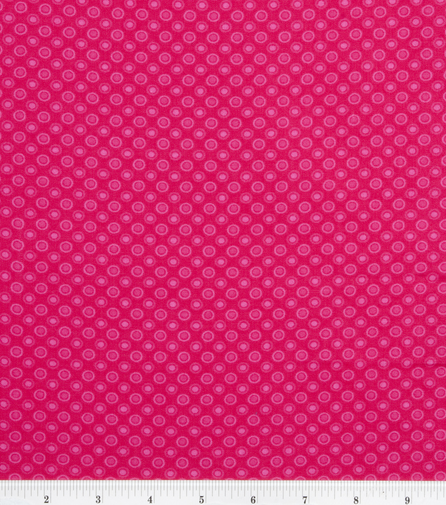 Keepsake Calico™ Cotton Fabric 43\u0022-Pink Lined Dot