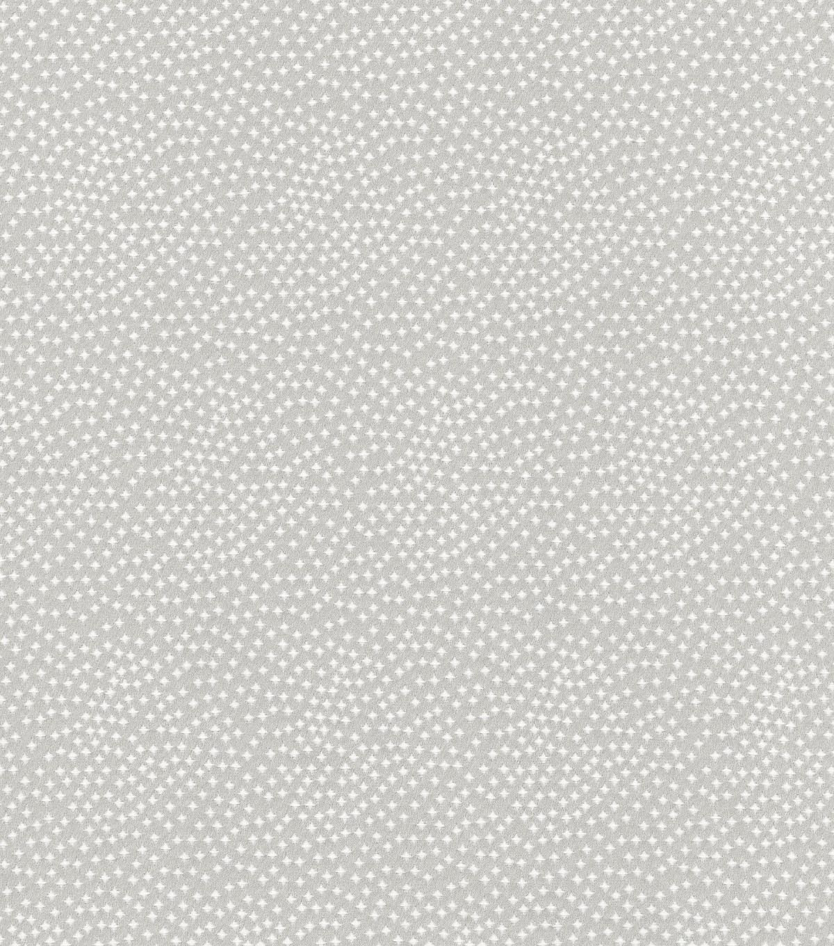 "Home Decor 8""x8"" Swatch Fabric-Tracy Porter Stars Silver Cloud"
