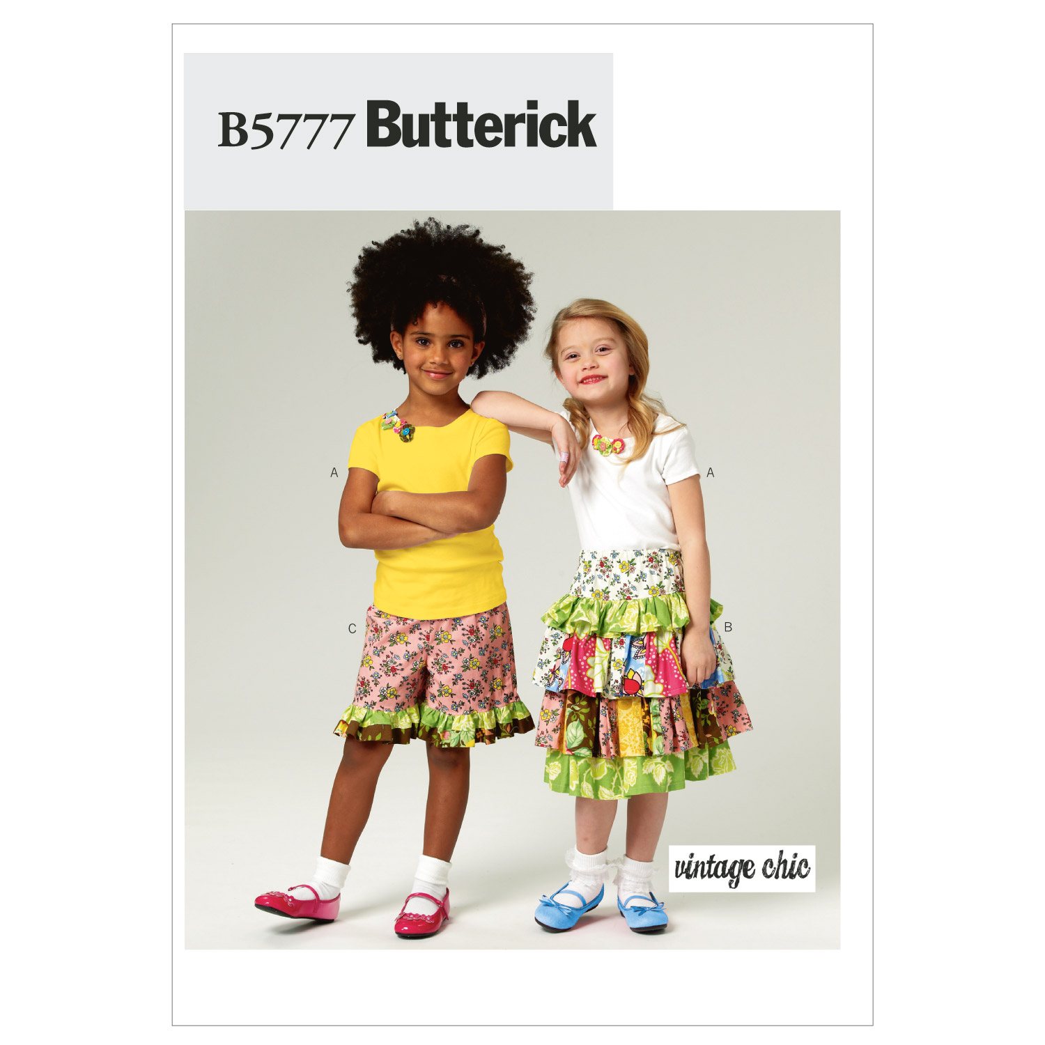 Mccall Pattern B5777 Cl (6-7-8)-Butterick Pattern