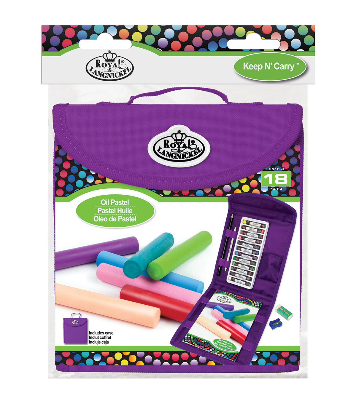 Royal Brush® Keep N' Carry Set-Oil Pastel