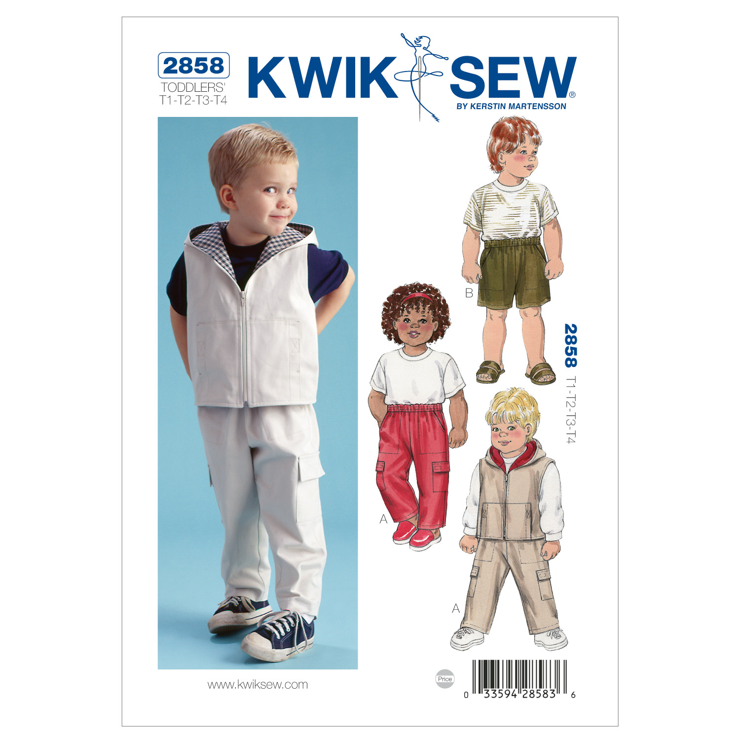Kwik Sew Toddler Casual-K2858