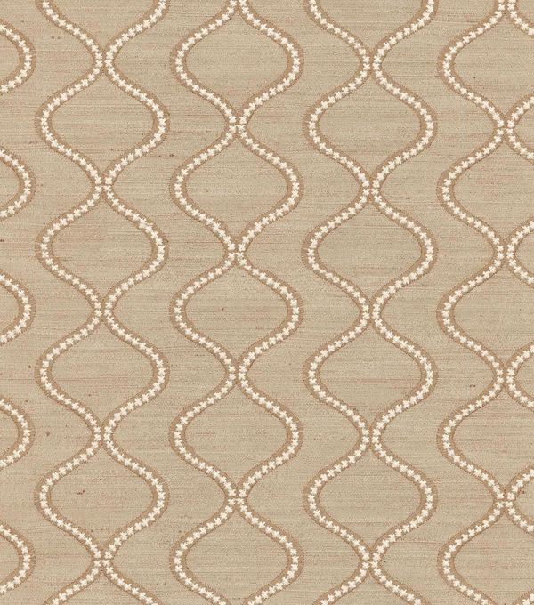 "Waverly Upholstery Fabric 55""-Cosmic Way Emb/Sandstone"