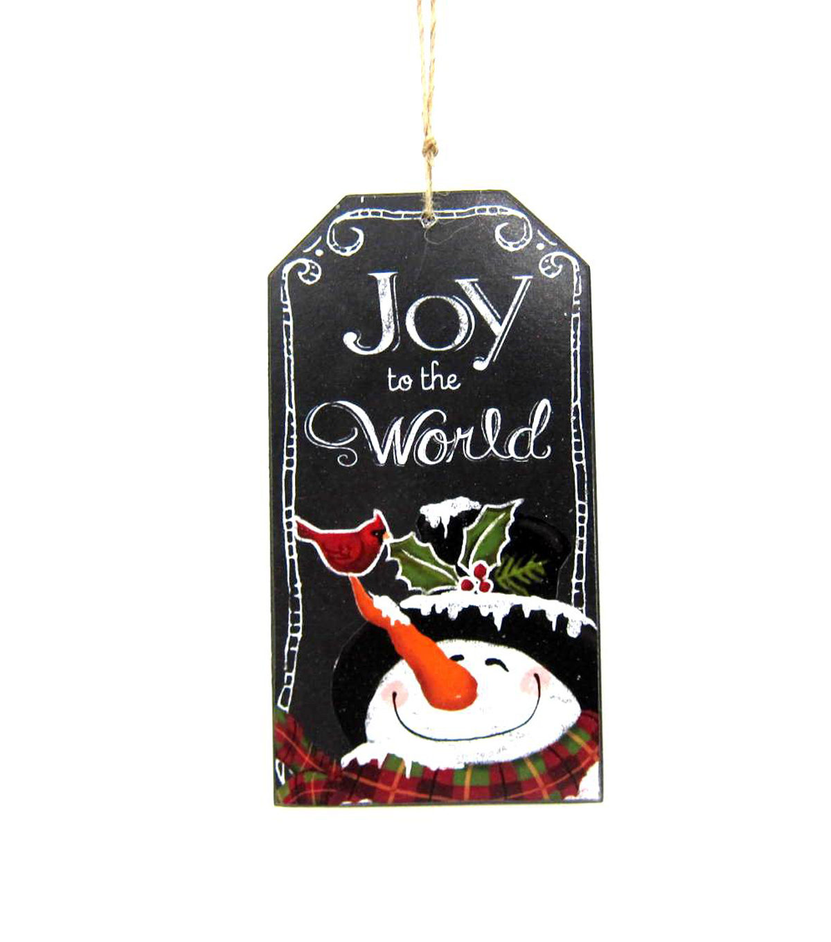 Maker's Holiday Joy To The World Chalkboard Ornament