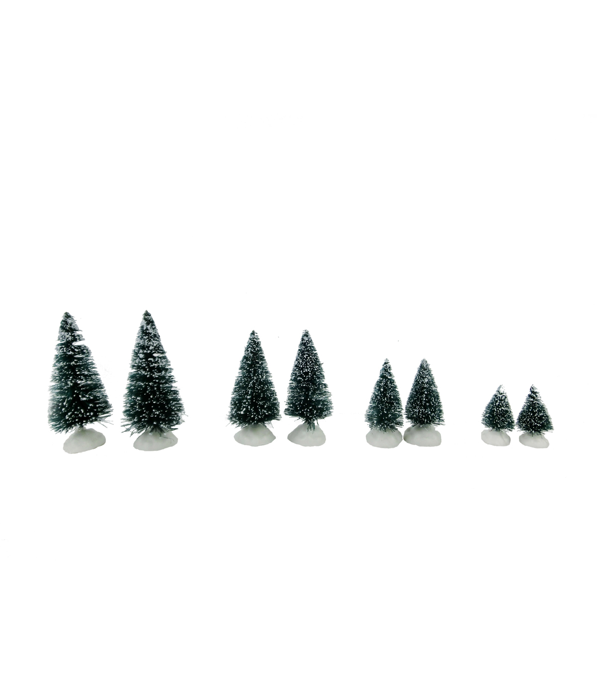 Maker\u0027s Holiday Christmas 8 Pack Mini Trees-Green