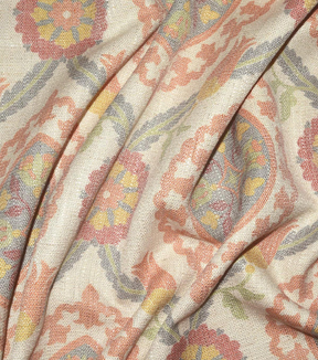 P/K Lifestyles Upholstery Fabric 54\u0022-Global Attraction Butternut