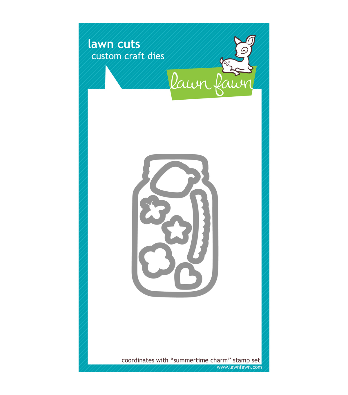 Lawn Fawn Lawn Cuts Custom Craft Die -Summertime Charm