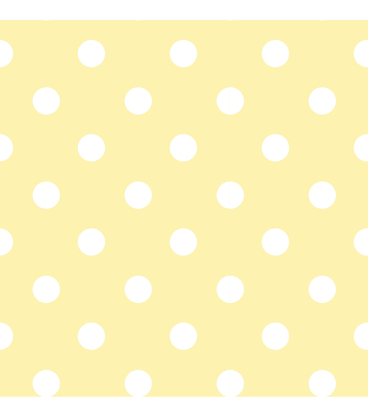 WallPops®NuWallpaper™ Yellow Dottie Peel And Stick Wallpaper