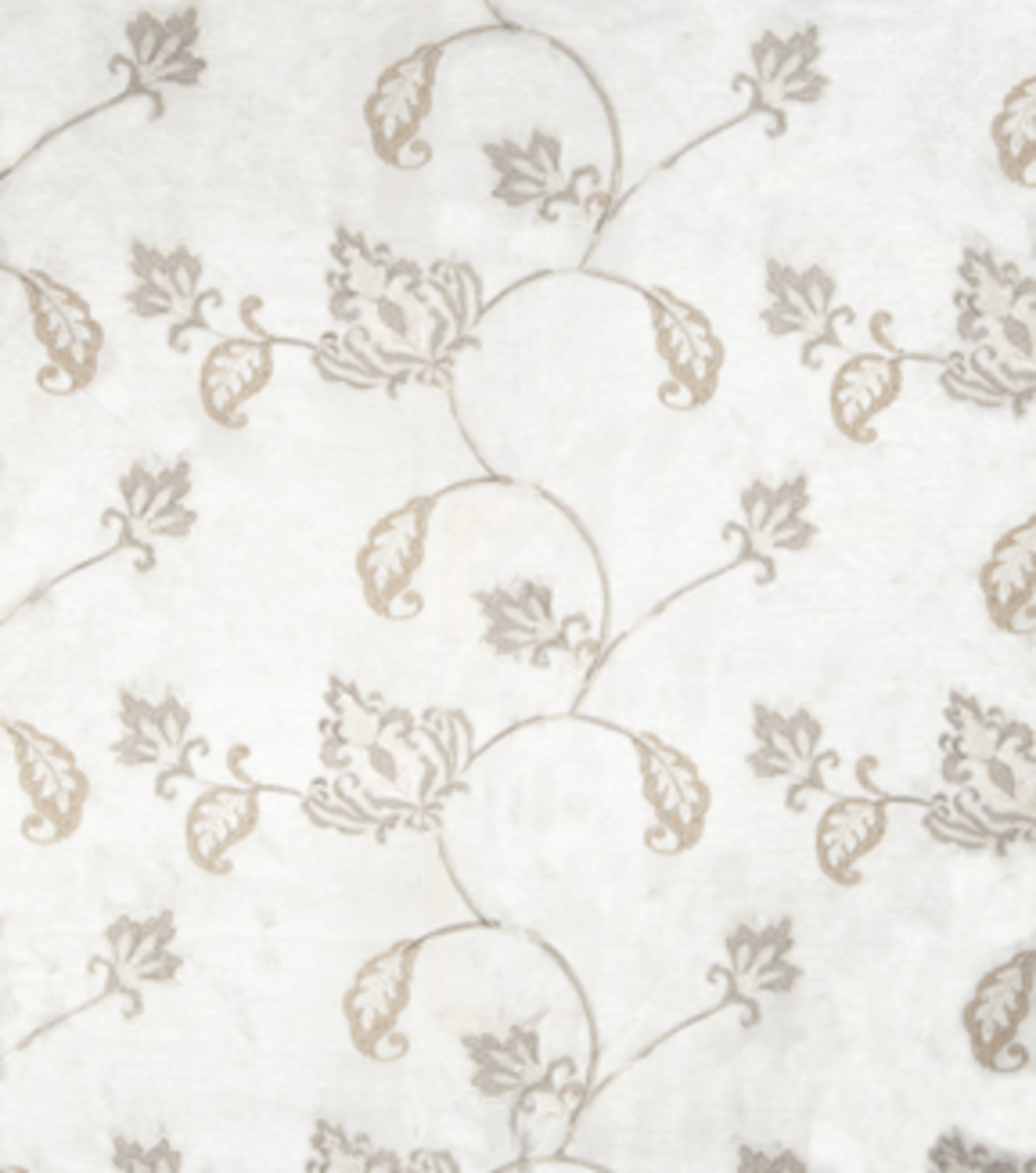 Home Decor 8\u0022x8\u0022 Fabric Swatch-Print Fabric Eaton Square Married Off White