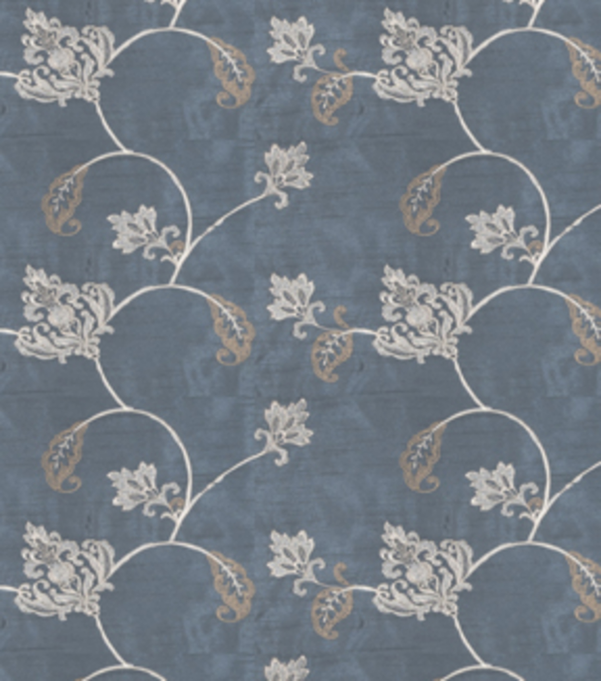 "Home Decor 8""x8"" Fabric Swatch-Print Fabric Eaton Square Married Teal"