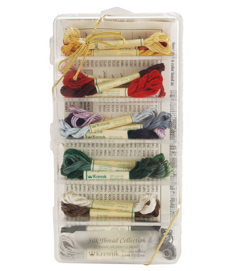 Kreinik Silk Thread Collection