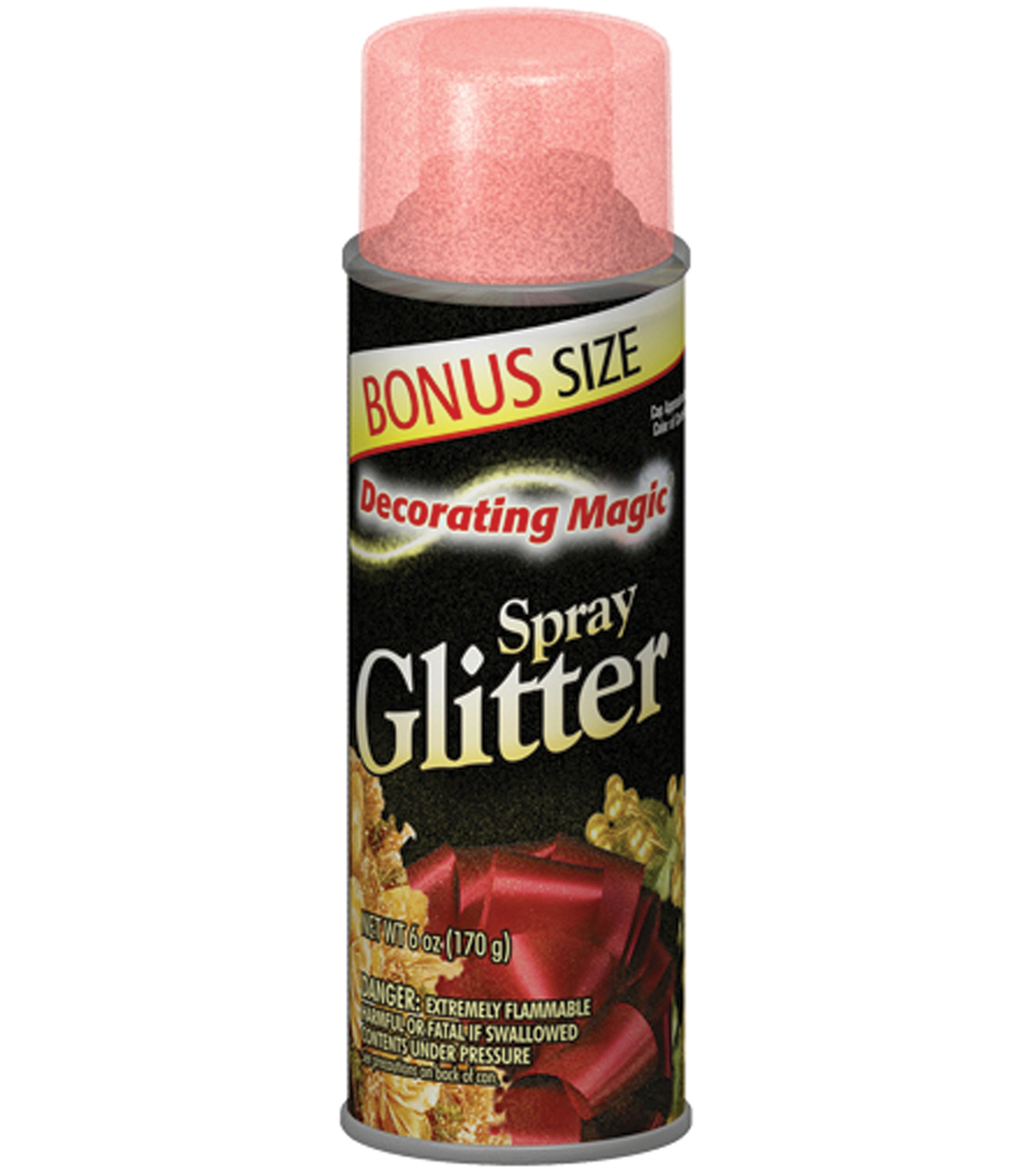 Decorating Magic Spray Glitter 6 Ounces