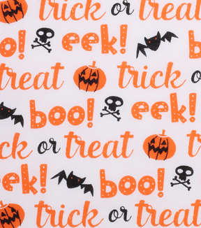 "Holiday Showcase™ Halloween Cotton Fabric 43""-Trick Or Treat"
