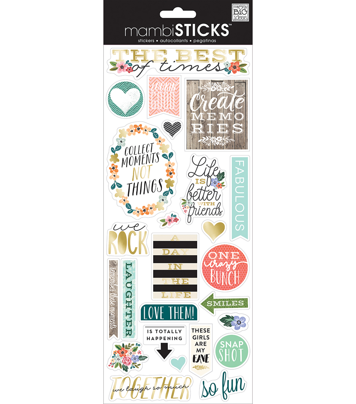 Specialty Stickers-The Best Of Times