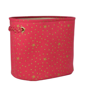 Maker\u0027s Holiday Small Soft Bin-Red Gold