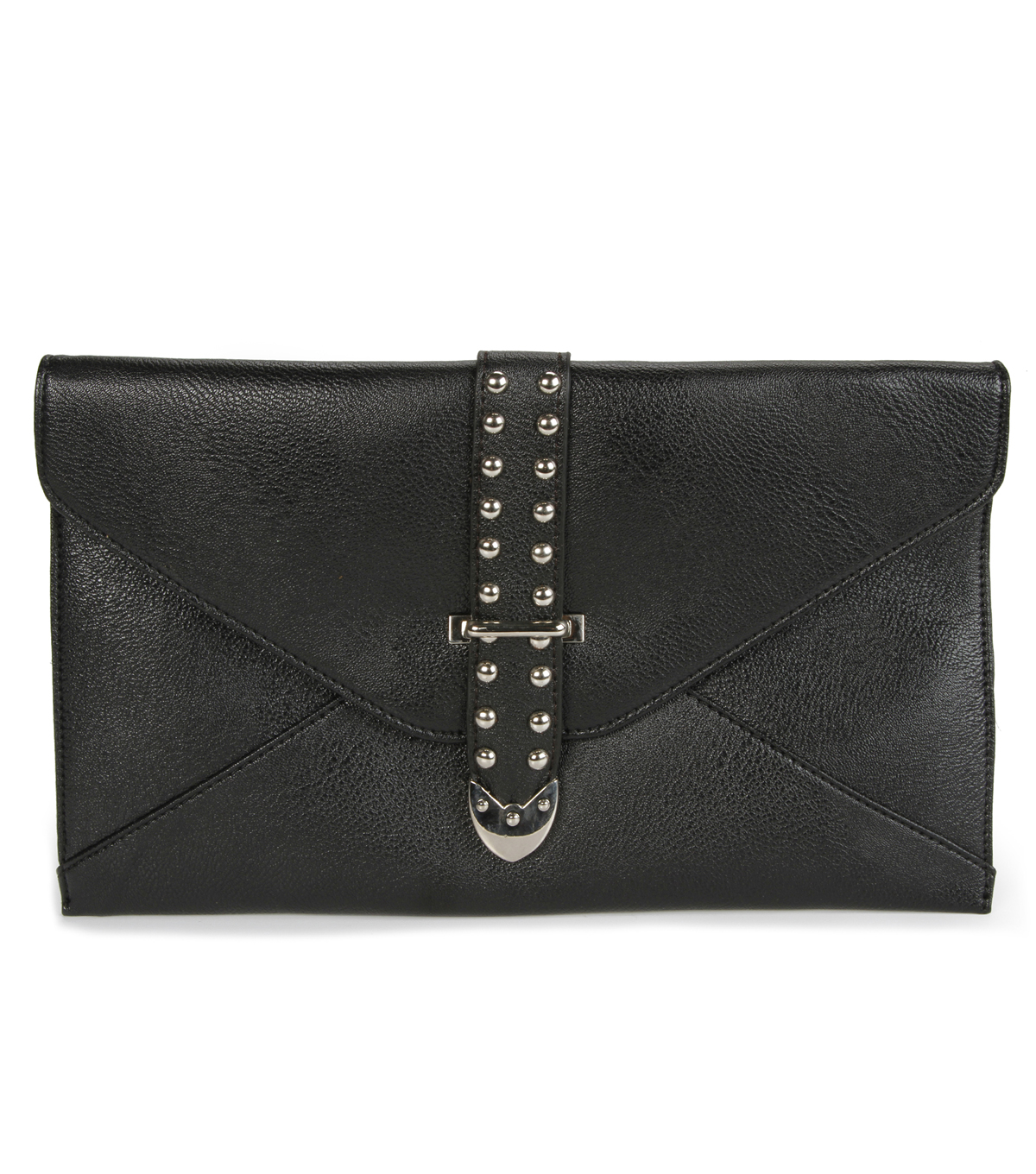 Oxford Street Jewelry Co. ENVELOPE BLACK WHITE CLUTCH