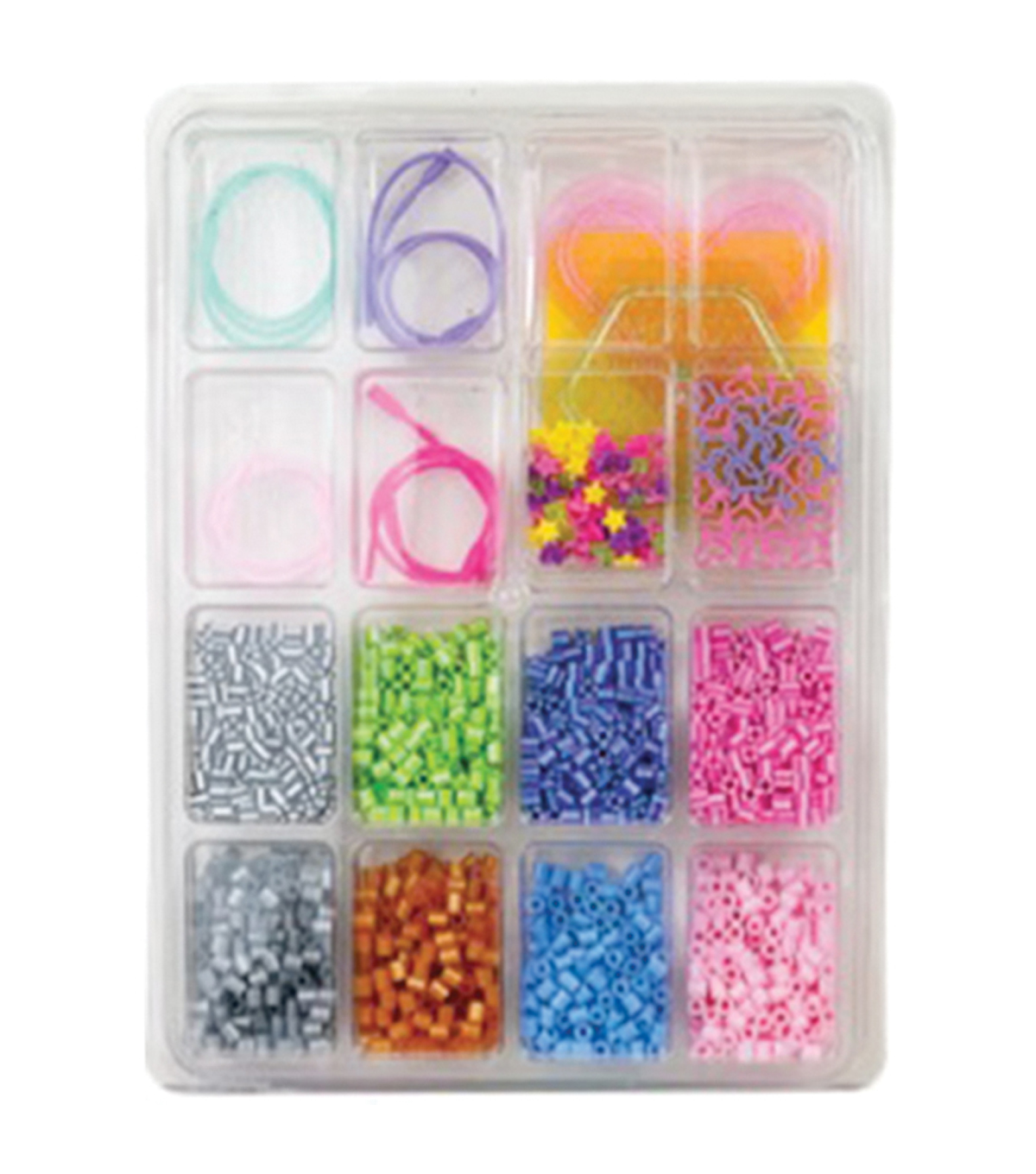 Perler Fun Fusion Fuse Bead Activity Kit-Jewelry Tray