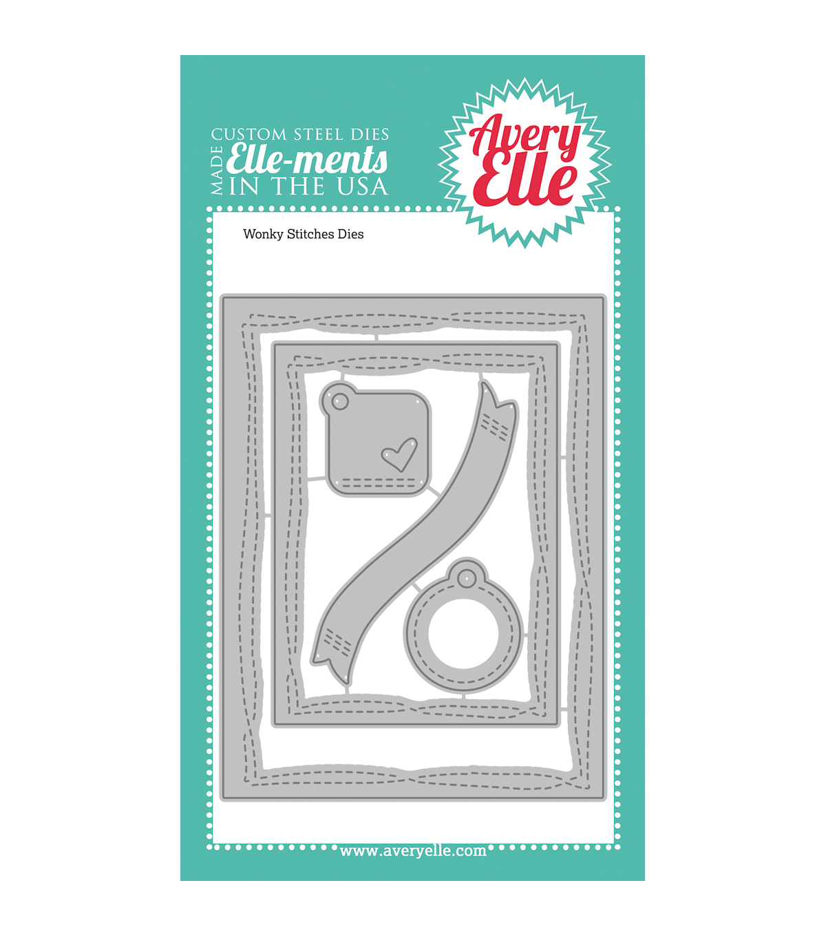Avery Elle Elle-Ments Dies-Wonky Stitches