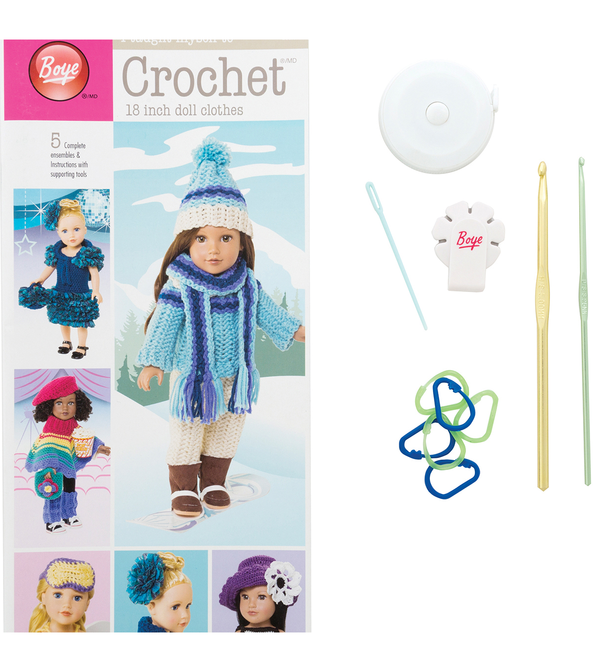 I Taught Myself To Crochet 18\u0022 Doll Clothes