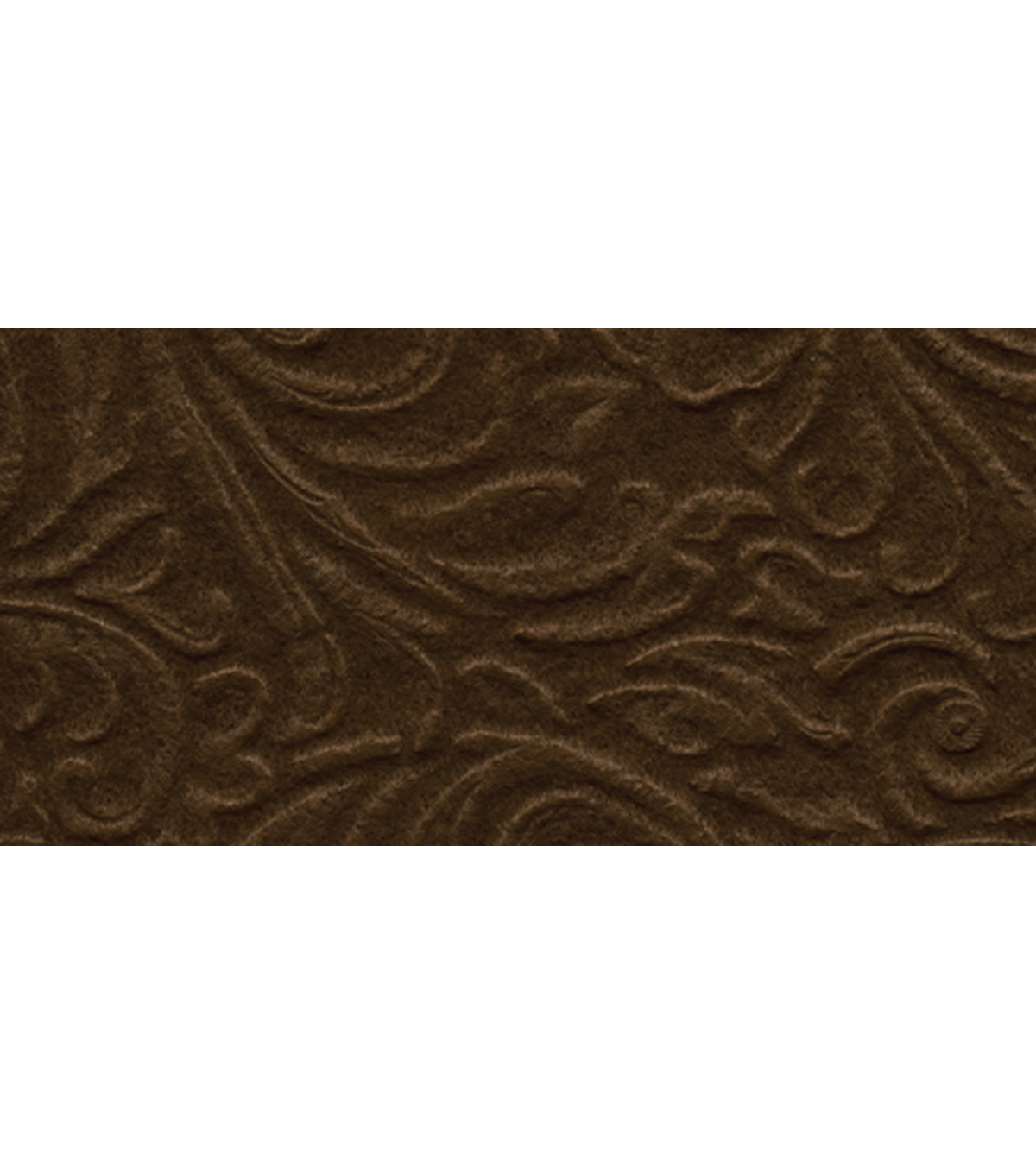 "Kunin/Foss-Galleria Embossed Felt 9""X12"" 24/Pkg-Cocoa Brown"