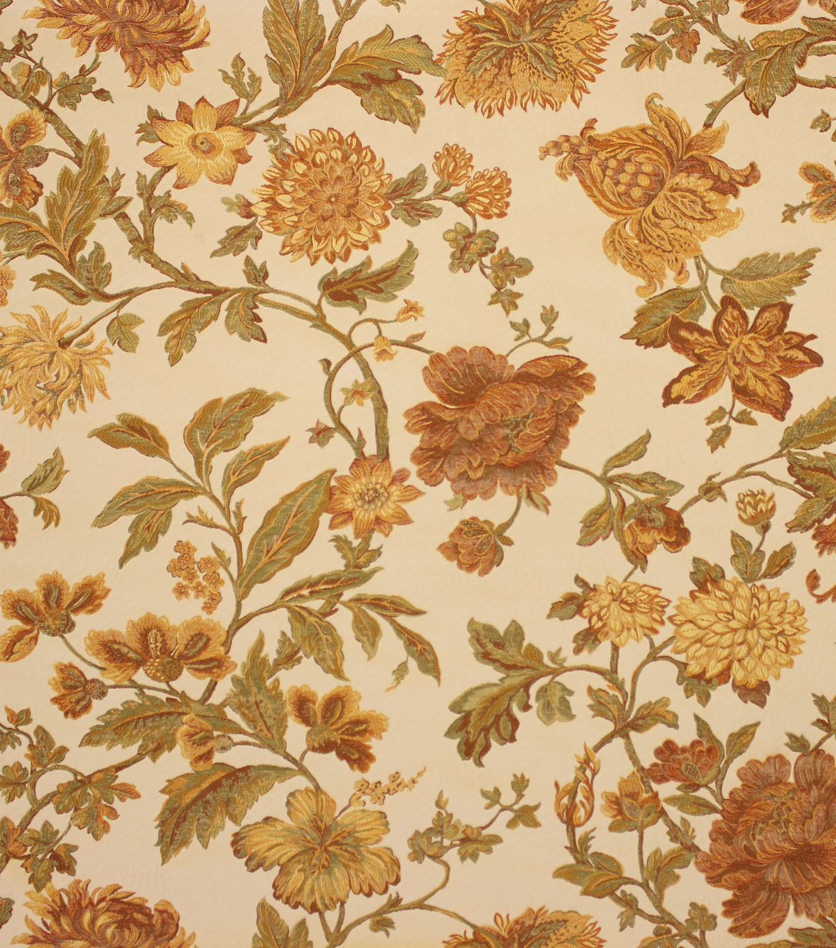 Home Decor 8\u0022x8\u0022 Fabric Swatch-Upholstery Fabric Barrow M8596-5110 Saffron