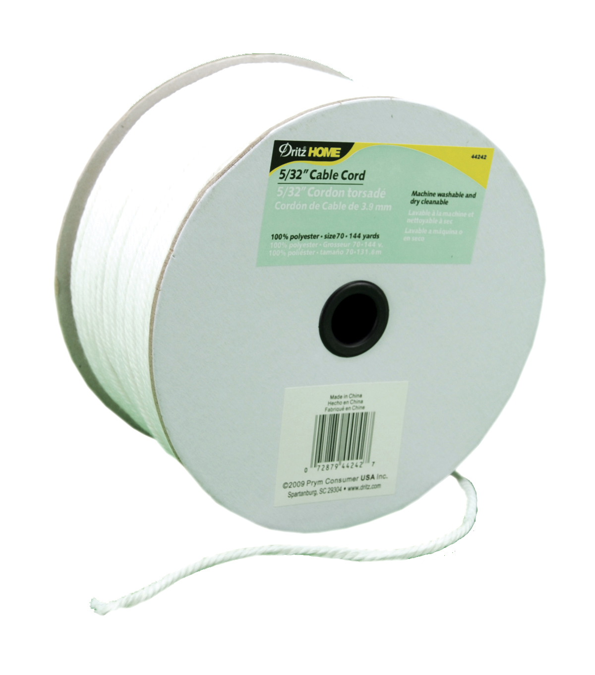 5/32\u0022x144yd Cable Cord-White