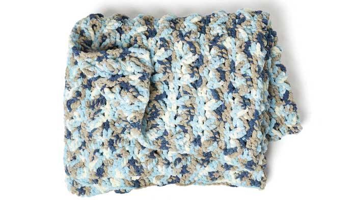 Crochet: Blanket Yarn Lapghan