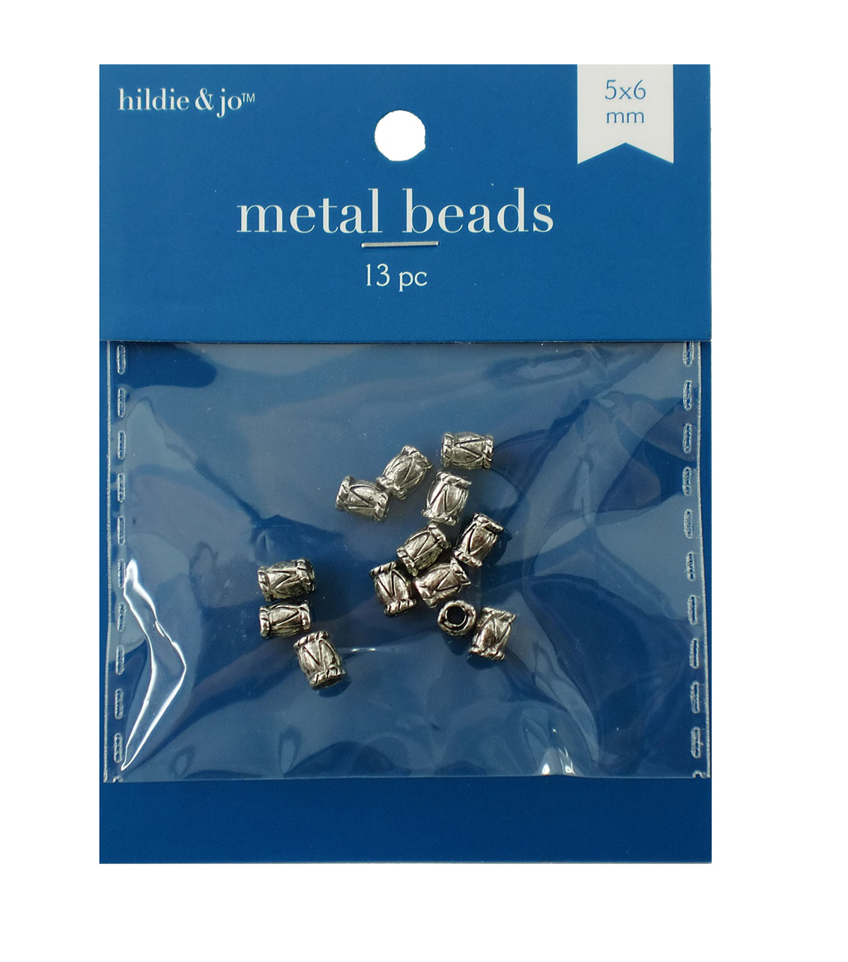 Cast Metal Spacer Beads, Barrel Style, Antique Silver