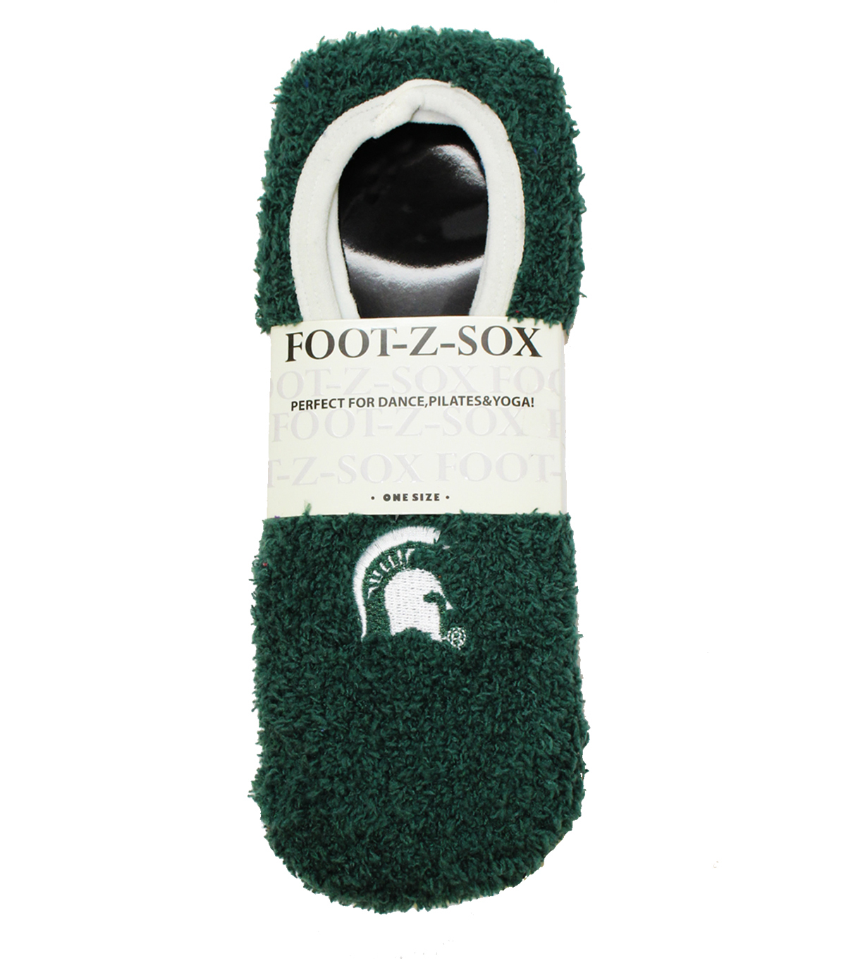 Michigan State University Spartans Foot-z Sox