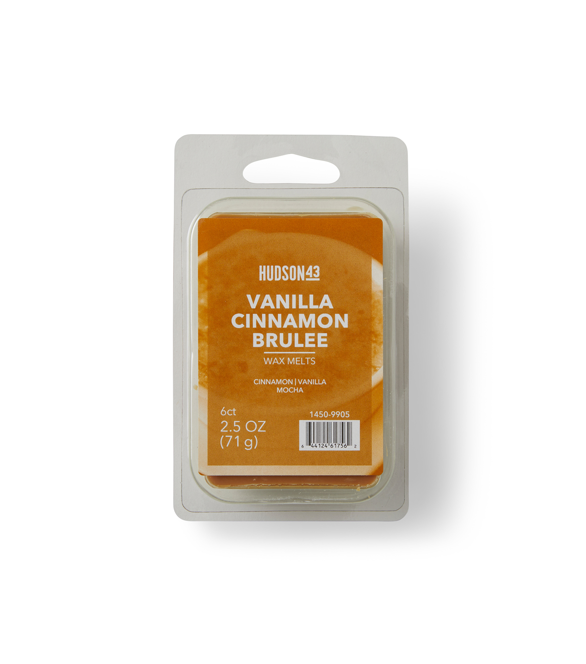 Hudson 43™ Candle & Light Collection Wax Melt-Vanilla Cinnamon Brulee
