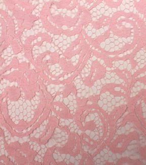 "Casa Collection™ Lace Fabric 55""-Floral Scroll Primrose"
