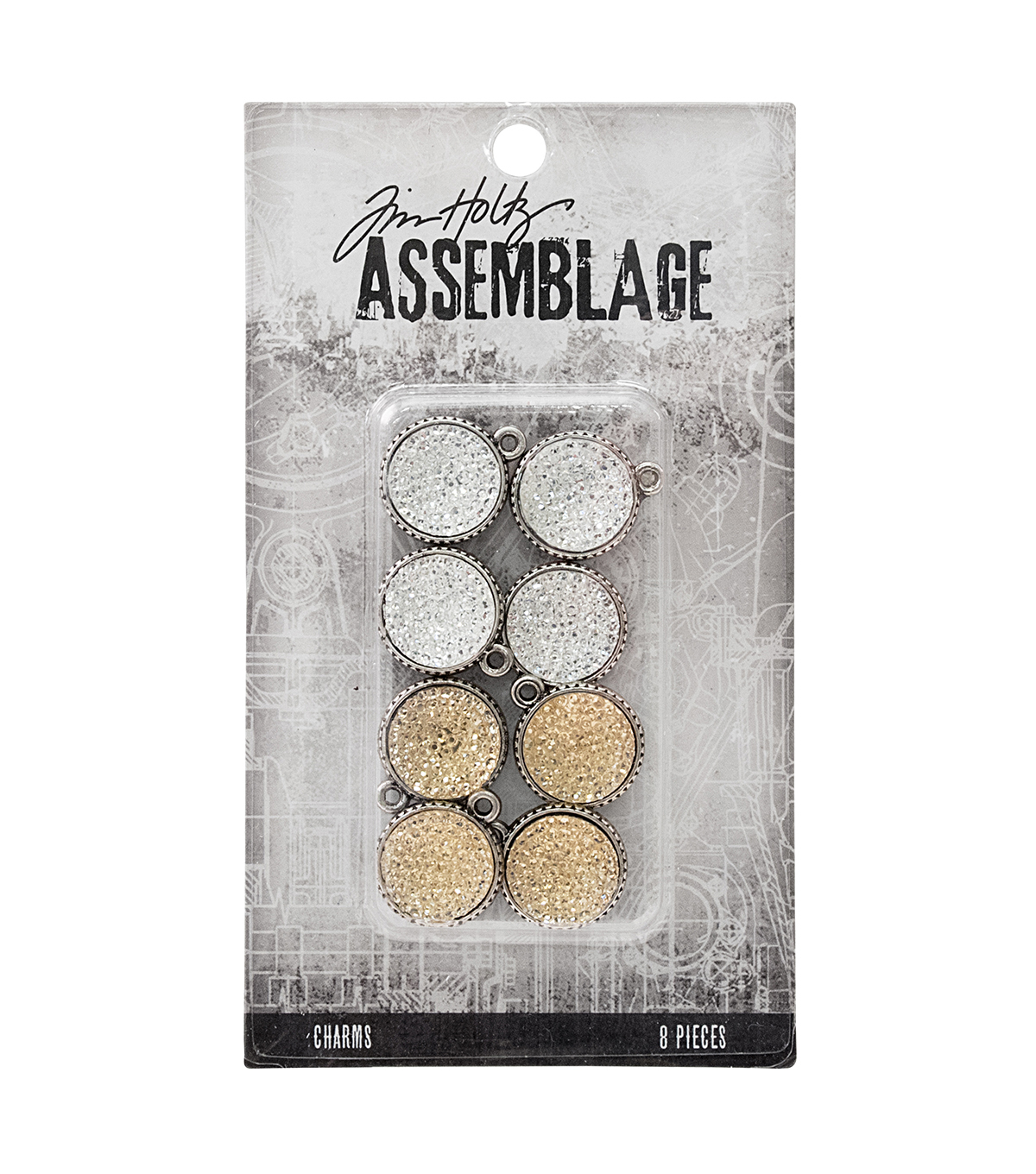 Tim Holtz® Assemblage Pack of 8 Gumdrops Charms