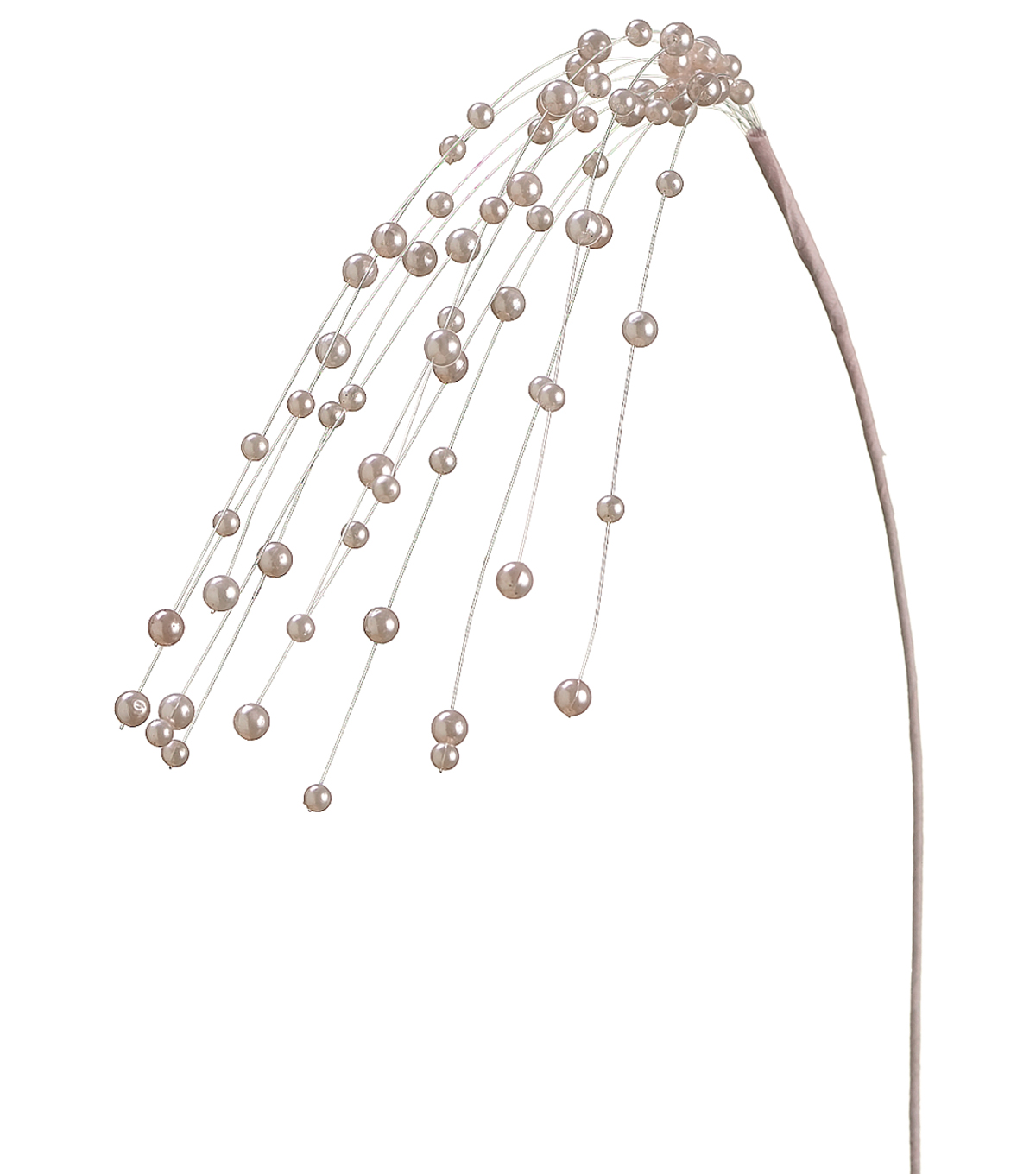 Bloom Room 22\u0022 Pearl Beads Spray-Pink