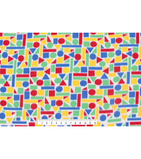 Blizzard Fleece Fabric 59\u0022-Construction Blocks