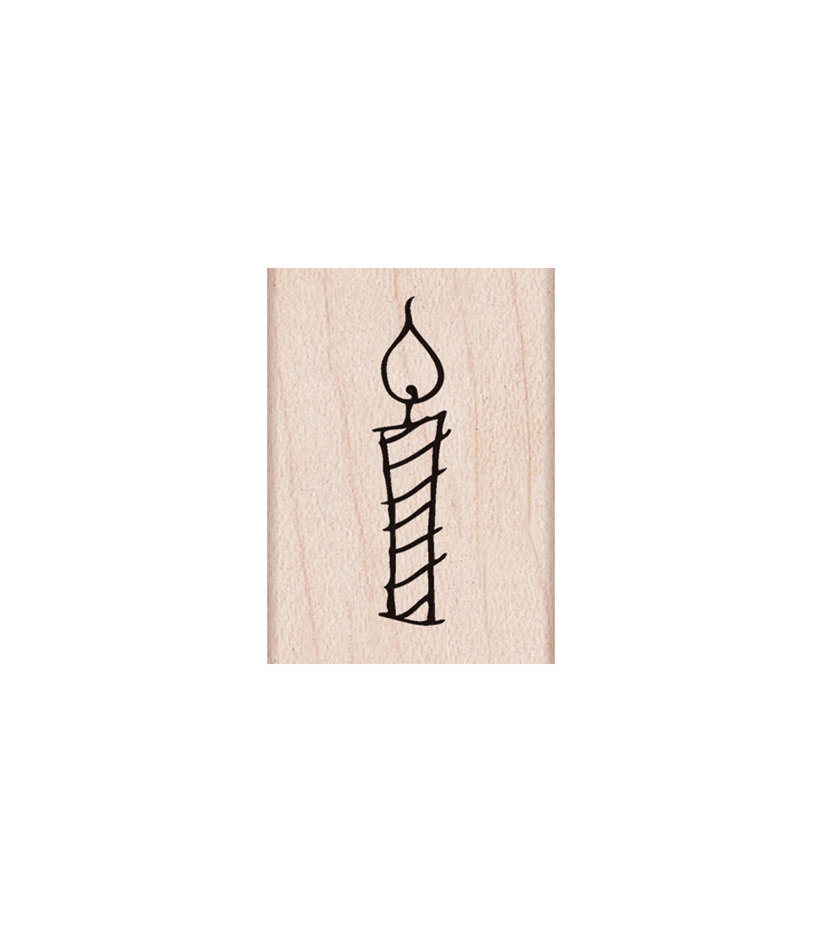 Hero Arts® Wood Mounted Rubber Stamp-Candle