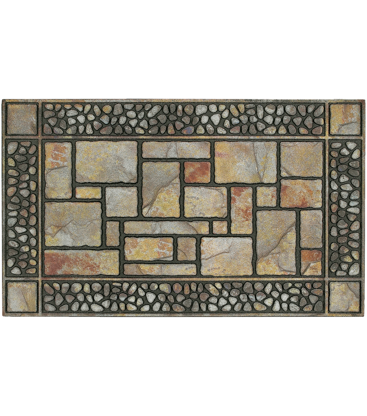 Mohawk Home 18\u0027\u0027x30\u0027\u0027 Doormat-Patio Stones