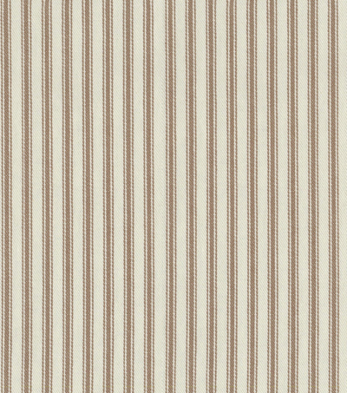 "Home Decor 8""x8"" Fabric Swatch-Upholstery-Waverly Classic Ticking/Chocolate"