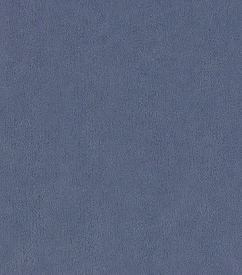 "Home Decor 8""x8"" Fabric Swatch-Suede Blue Curaco"