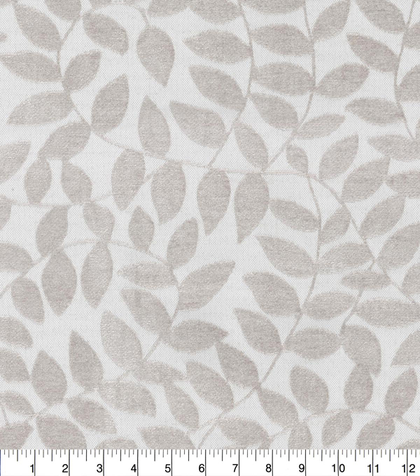 Waverly Upholstery Fabric 54\u0027\u0027-Platinum Branching Out