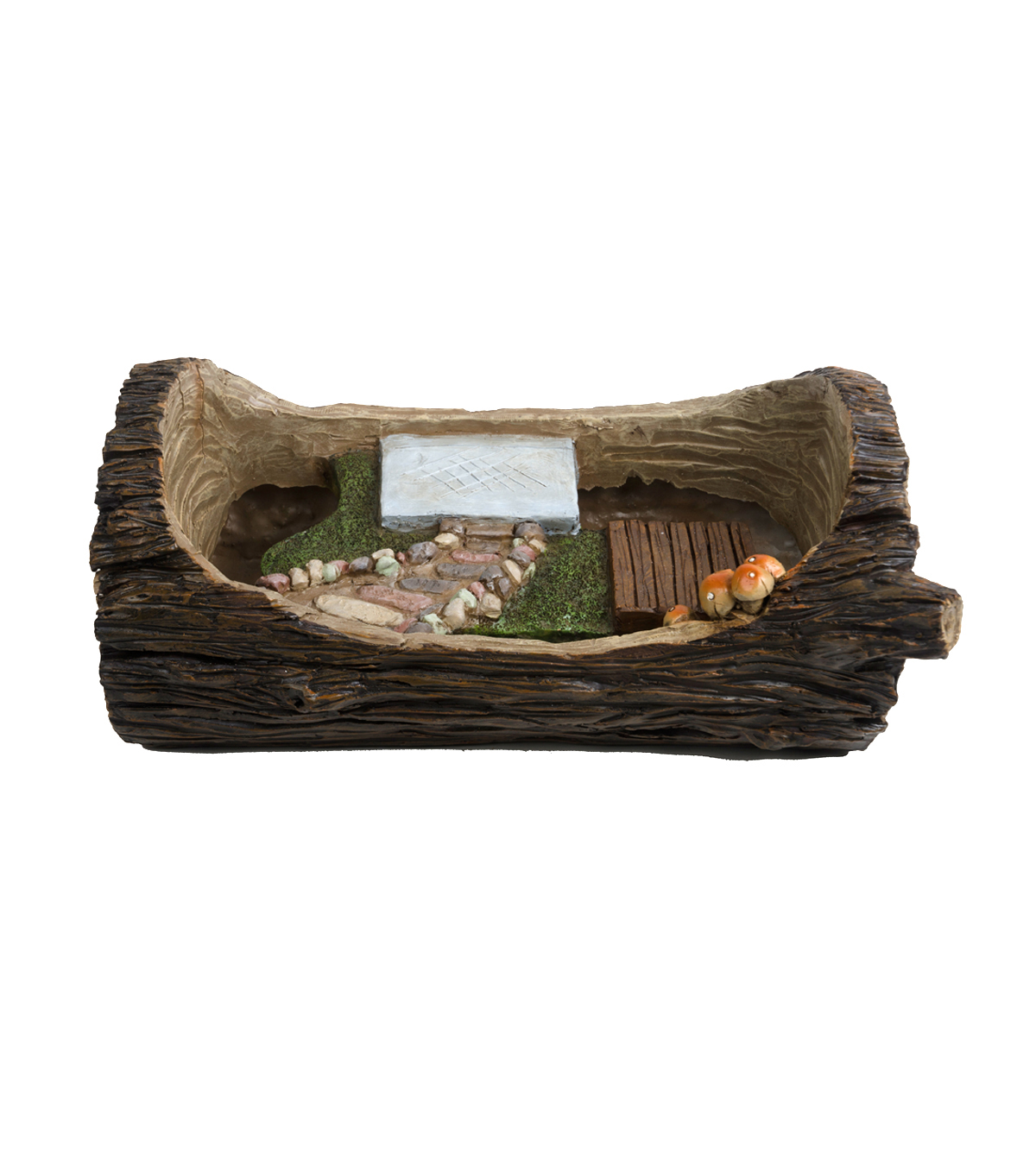 Bloom Room Littles Log Flower Container
