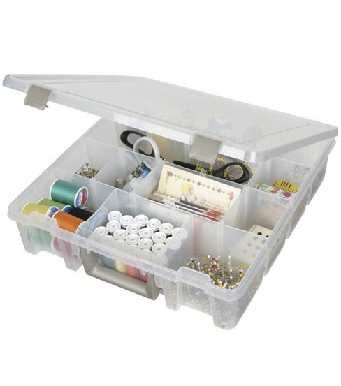 Artbin Super Satchel Box With Removable Dividers 9007AB