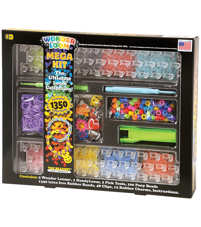 Beadery The Ultimate Wonder Loom Mega Kit