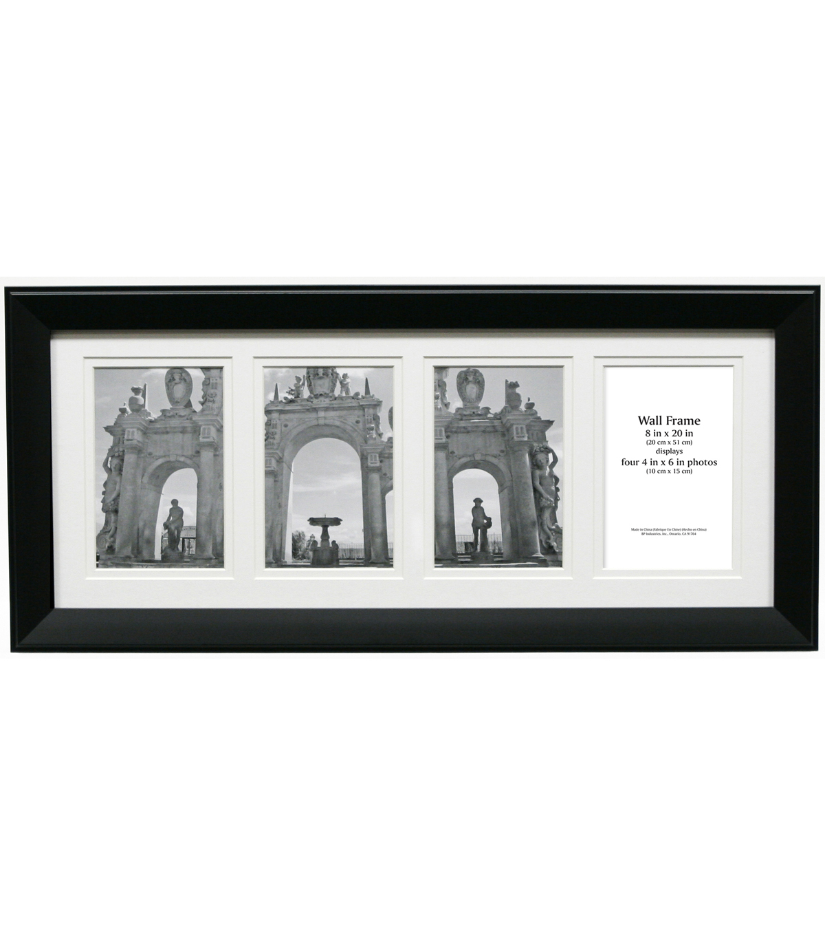 Collage Frame 8x20-Black