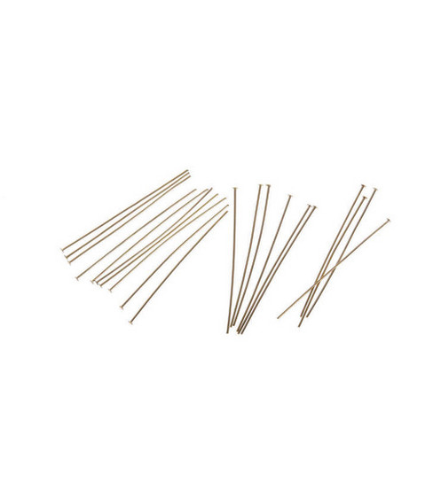 Darice® 2\u0022 Head Pins-84PK/Gold-Plated