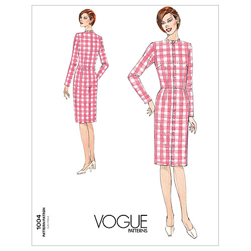 Vogue Patterns Misses Dress-V1004