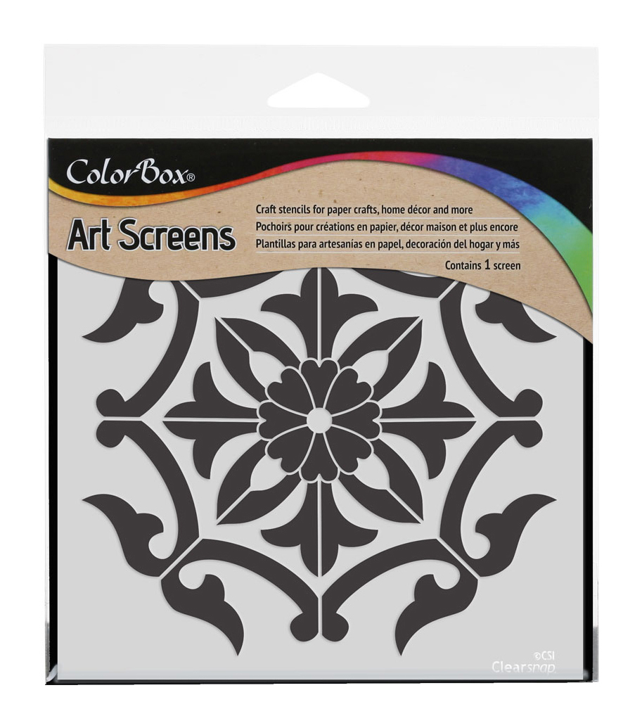 Clearsnap ColorBox Art Screens-Medallion