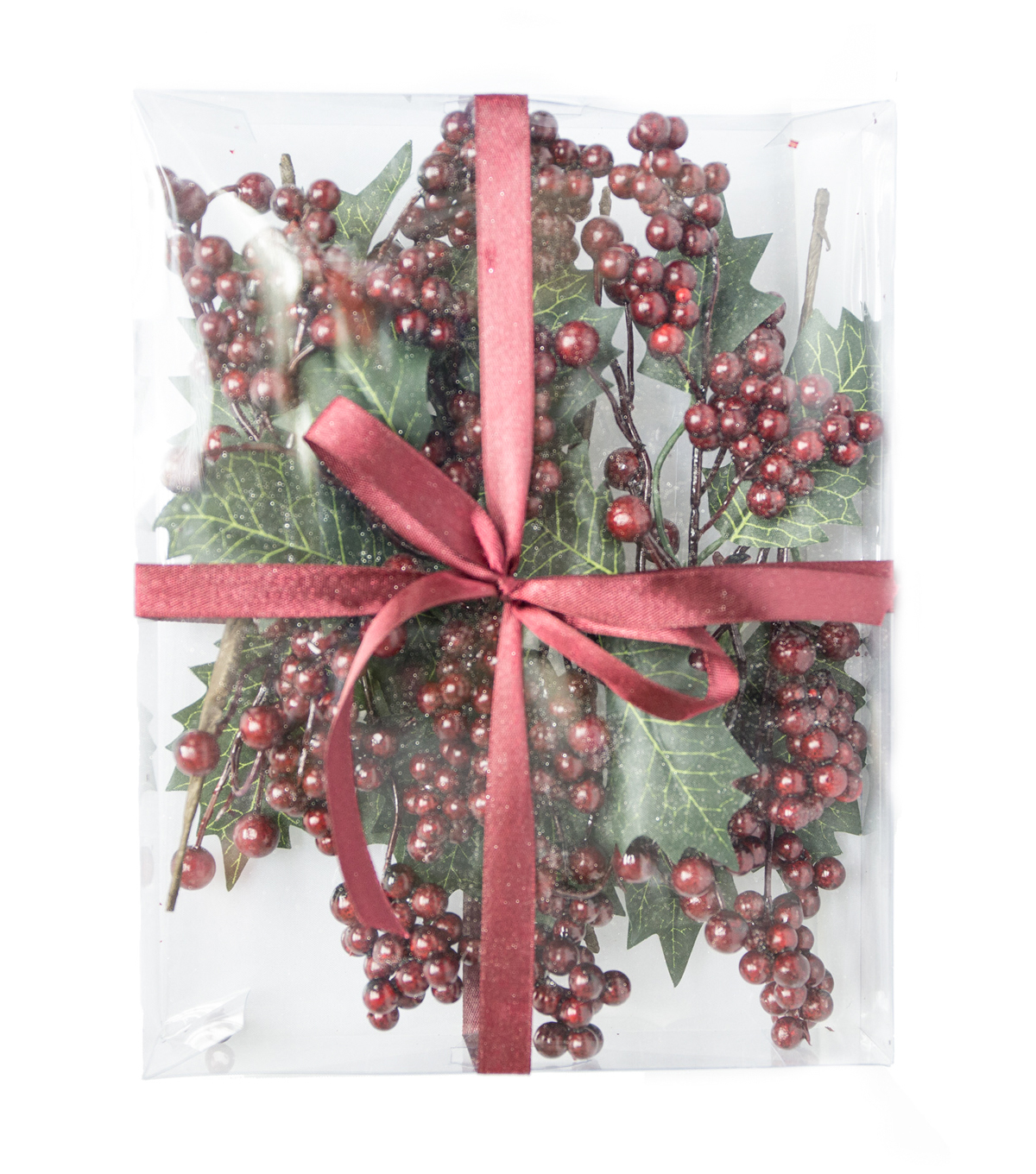 Blooming Holiday Boxed Berry Set-Burgundy