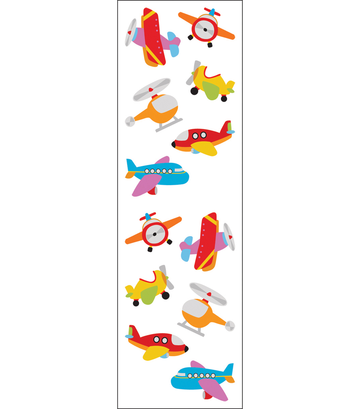 Mrs. Grossman\u0027s Stickers-Chubby Airplanes