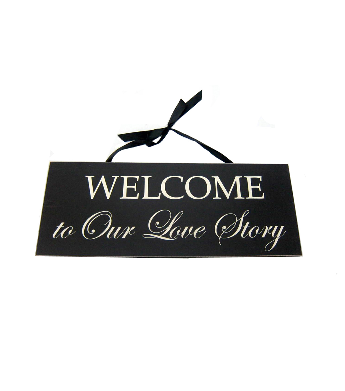 Save The Date™ Wall Decor-Welcome To Our Love Story