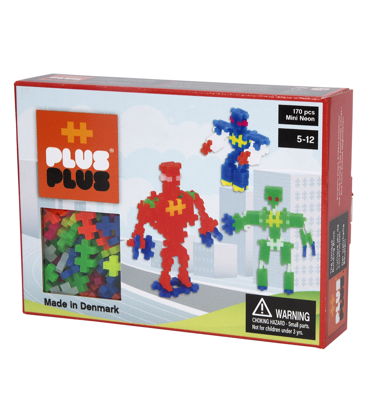 Plus-Plus 170 PC Robot Building Set